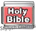 Italian Charm BIBLE HOLY BIBLE RELIGIOUS Photo Charm RE060
