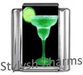 COCKTAIL MARGARITA TEQUILA MARTINI Photo Italian Charm 9mm - 1 x NC144 Sgle Link