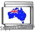 Italian Charm AUSTRALIA SOUTHERN CROSS MAP TRAVEL Photo Charm TT042
