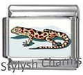 AN076 Italian Charm GECKO LIZARD REPTILE Photo Charm