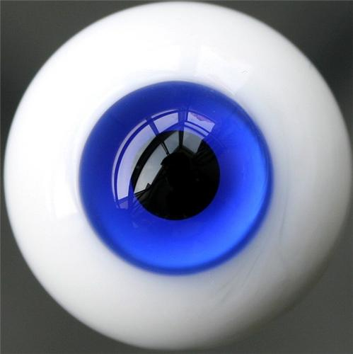 10# 10mm Dark Blue For BJD Doll Dollfie Glass Eyes Outfit