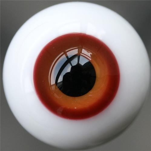 10mm Blue Glass Eyes For BJD Doll Dollfie Outfit Accessories New