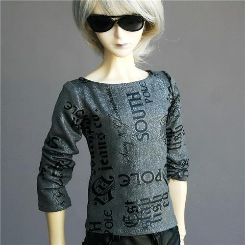 367#red Vest Clothes 1//3 SD DZ AOD LUTS BJD Dollfie T-shirt PF