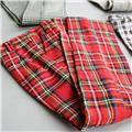 300# Red Plaid Pants/Trousers/Outfit 1/3 SD AOD DZ BJD Dollfie