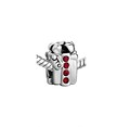 Red Crystal Gift Box Bead