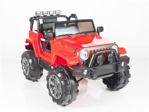 Kids 12v Power Red Riding Toy  Car Parental R/C Remote Control Ride On