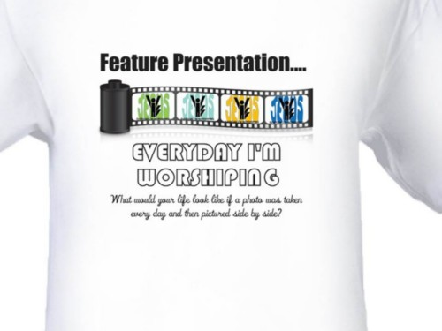 Everyday I'm Worshiping Feature Presentation Men's T-Shirt
