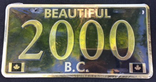 Beautiful B.C. 2000 Souvenir