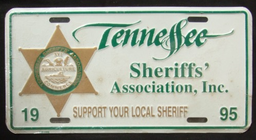 Tennessee Sheriffs' Association Souvenir 1995