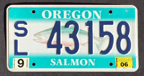Oregon Salmon SL 43158 '06