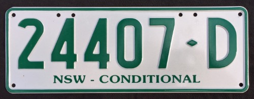 NSW Conditional 24407-D