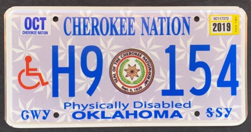 Cherokee Disabled H9 154 '19