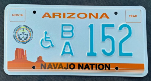 Arizona Navajo Nation Disabled BA152
