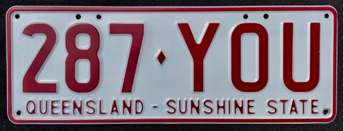 QLD 287-YOU r
