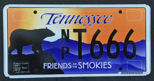 Tennessee Friends Of The Smokies NPT666 '18