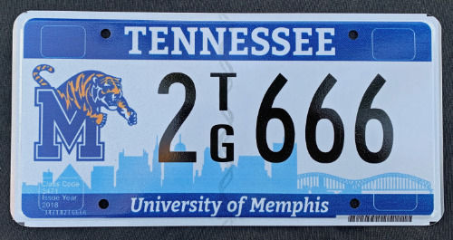 Tennessee University Of Memphis 2TG666