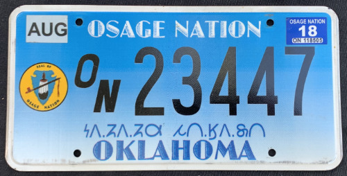 Osage Nation ON23447 '18