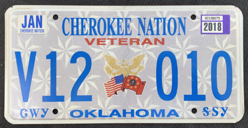 Cherokee Nation Veteran V12 010 '18