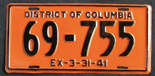 District of Columbia 69-755 '41