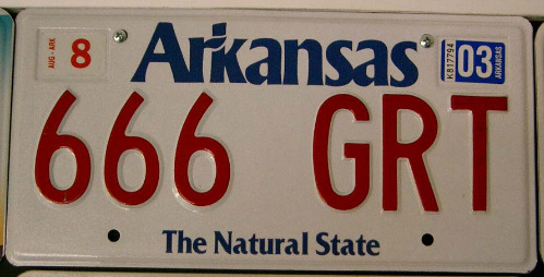 Arkansas 666 GRT '03