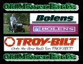 Bolens 1712598 Mower Blade LH of Pair NOS Part Troy-Bilt OEM MTD Garden Way