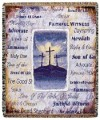 His Holy Name Inspirational Tapestry Throw