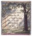 Personalized Every Step Inspirational Tapestry Throw