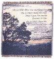 Lord Bless Inspirational Tapestry Throw