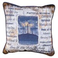His Holy Name Inspirational Decorative Tapestry Pillow