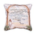 The Journey Inspirational Decorative Tapestry Pillow