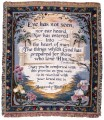 Heavenly Home Inspirational Tapestry Throw