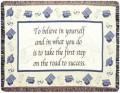Personalized Graduate Tapestry Throw
