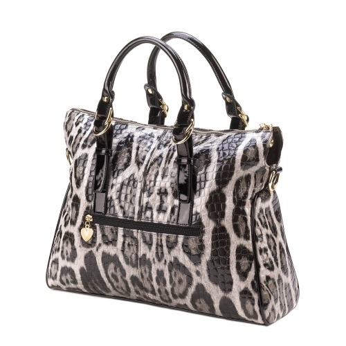 HIGH FASHION SNAKE SKIN TOTE BAG (1)