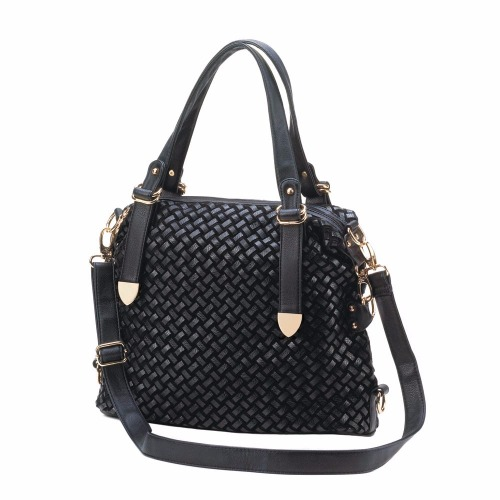 JETSET BLACK SHOULDER BAG