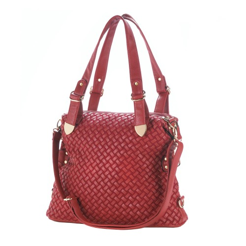 JETSET RED SHOULDER BAG