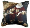 Santa's Treats Christmas Decorative Tapestry Pillow