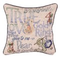 12 Days of Christmas Decorative Tapestry Pillow