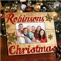 family-snowflakes-picture-frame-brown-flakes-1