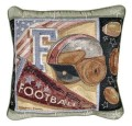 American Football Sports Decorative Tapestry Pillow
