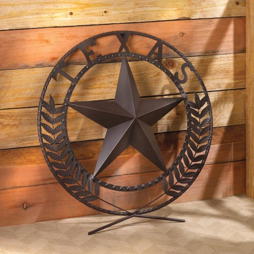 TEXAS STAR WALL PLAQUE (1)