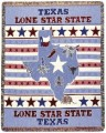 Texas Lone Star State Tapestry Throw