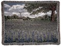 Texas Bluebonnets Country Tapestry Throw