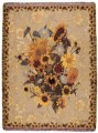 Personlized Sunflower Meadow Tapestry Throw Size 50x70