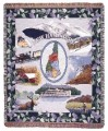New Hampshire Tapestry Throw