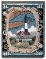 Fire Island Lighthouse Tapestry Throw