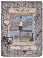 Montauk New York Lighthouse Tapestry Throw