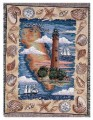 Personalized Ponce Inlet Florida Lighthouse Tapestry Throw