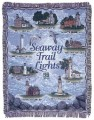 Seaway Trail Lights Lighthouse Tapestry Throw