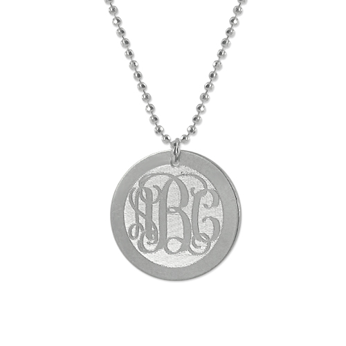 f91a840f4d4866 Personalized Engraved Monogram Silver Disc Charm Sterling Silver Necklace.  jumbo_110-01-200-02.jpeg