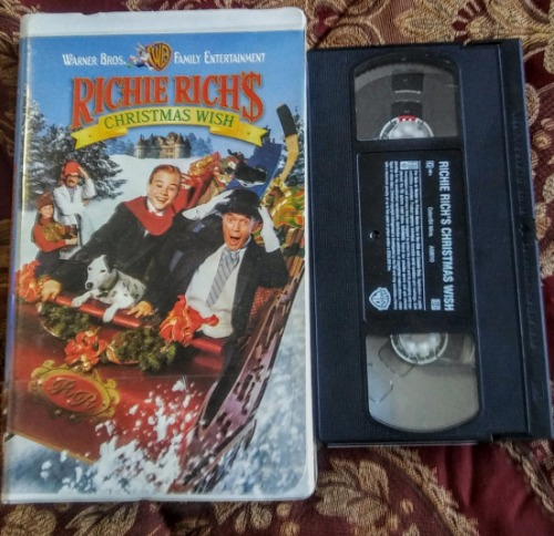 Richie Richs Christmas Wish.Richie Rich S Christmas Wish Vhs Cassette And Video Corner